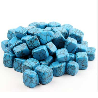 Turquoise bleue
